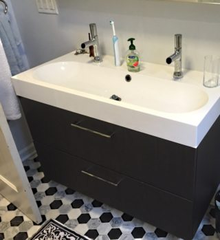 bathroom remodel contemporary vanity