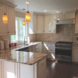 kitchen with granite countertop updates