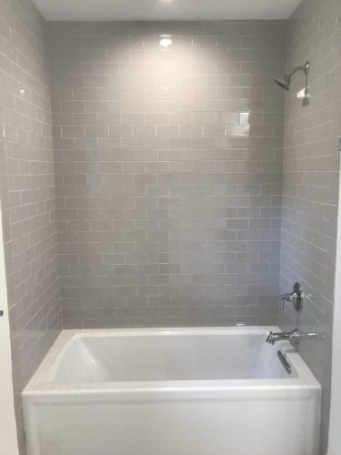 Bathroom Remodel With Updated Tub Sei Construction Inc
