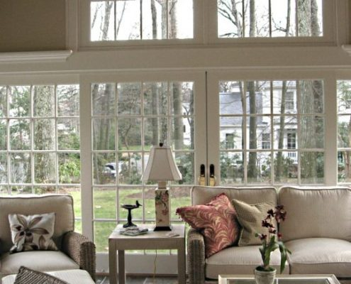 interior renovations with sunroom home addition