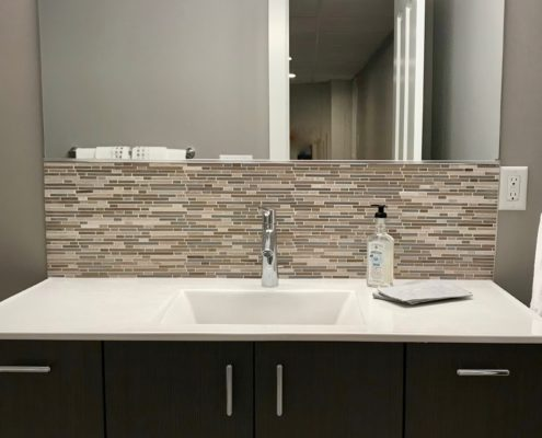 basement bathroom vanity