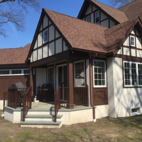 exterior remodeling projects with new roofing