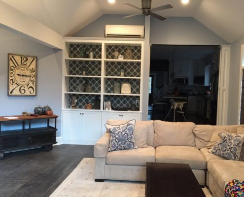Home Addition with Custom Woodwork