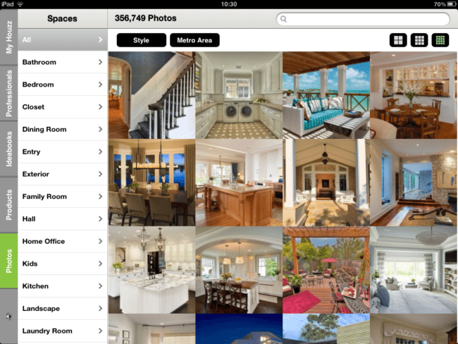 Using Houzz Ideabooks