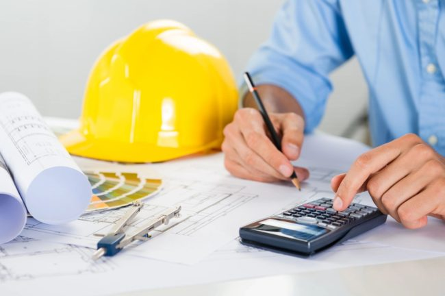 Contractor Calculating Remodeling Allowances