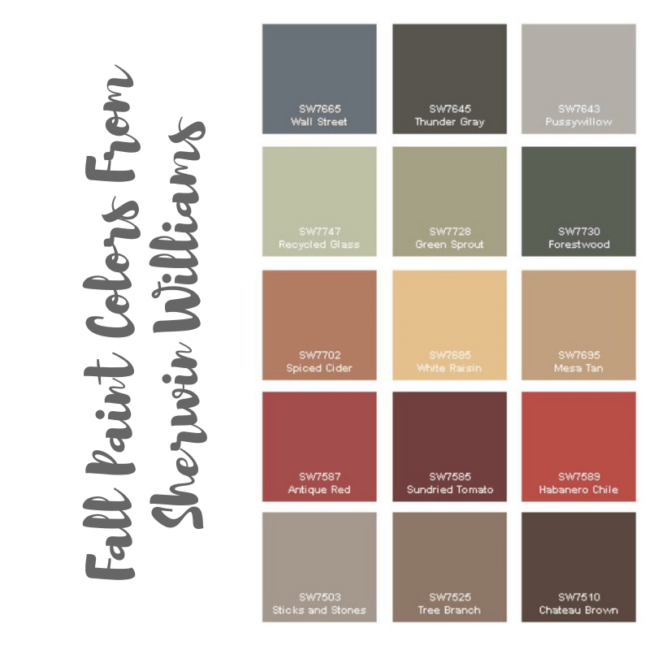 fall paint colors from sherwin williams-min