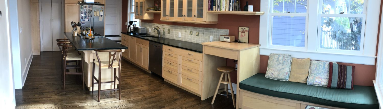 kitchen home addition project