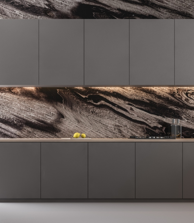 marble backsplash home trends 2020
